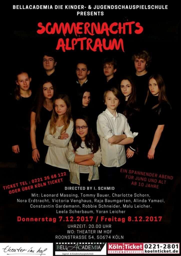 Jugendtheater, Jugendschauspielschule Köln, BellAcademia Jugendschauspielschule Köln, BellAcademia Schauspielschule Zürich