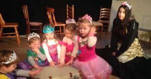 Schauspielunterricht für ganz Kleine
