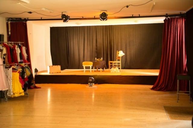 Bühne der bellacademia