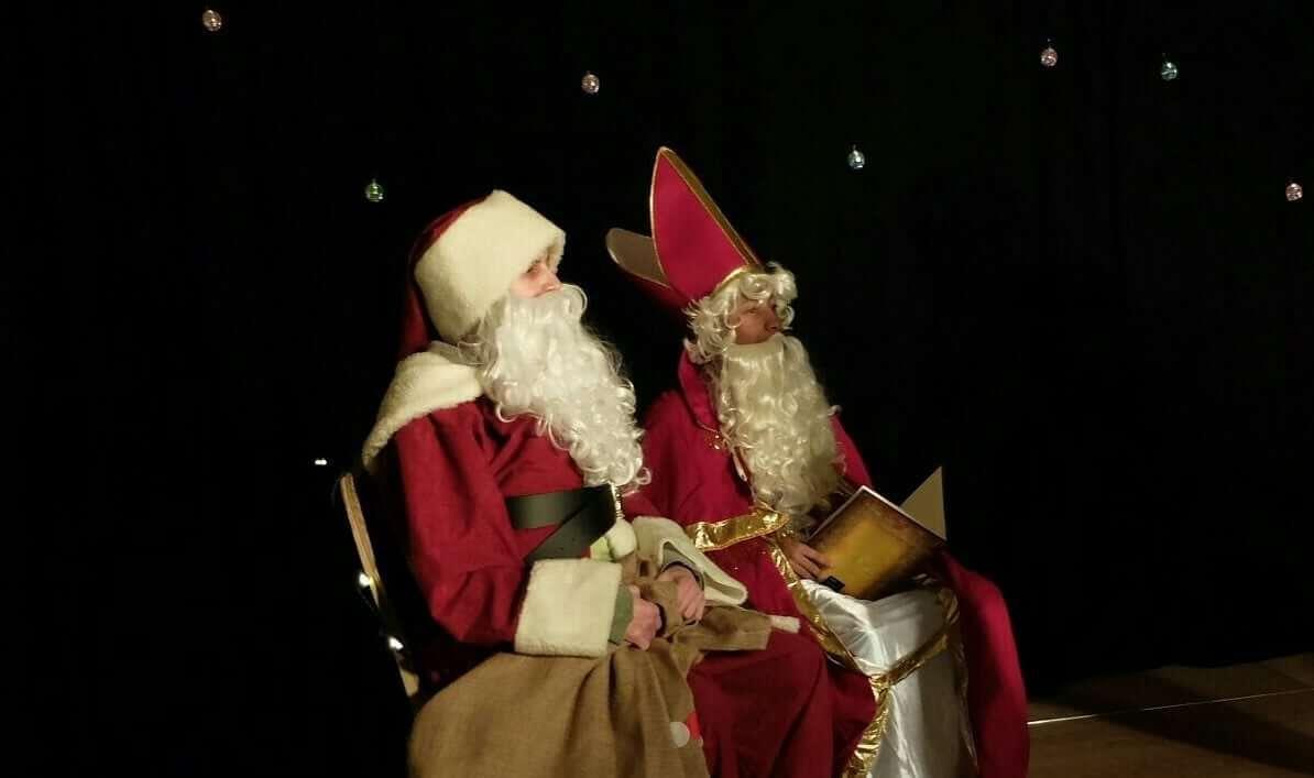 Weihnachten in der BellAcademia Schauspielschule Köln Weihnachtsmann Nikolaus