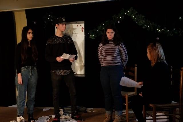 """""""Voll Abgedreht"""" Weihnachtsfeier BellAcademia Schauspielschule Köln"""