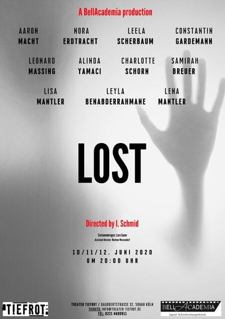 Lost, Vorstellung BellAcademia, Schauspielschule Köln, BellAcademia Köln, BellAcademia Schauspielschule, ,